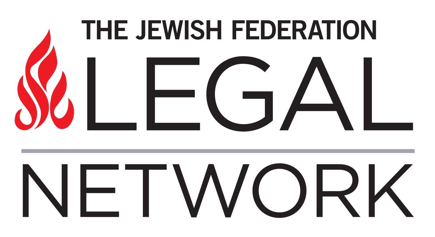 The Jewish Federation Legal Network Logo