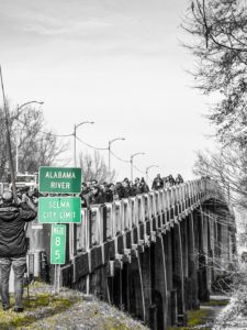 National Young Leadership Cabinet - Civil Rights Mission - Marching Across Alabama River