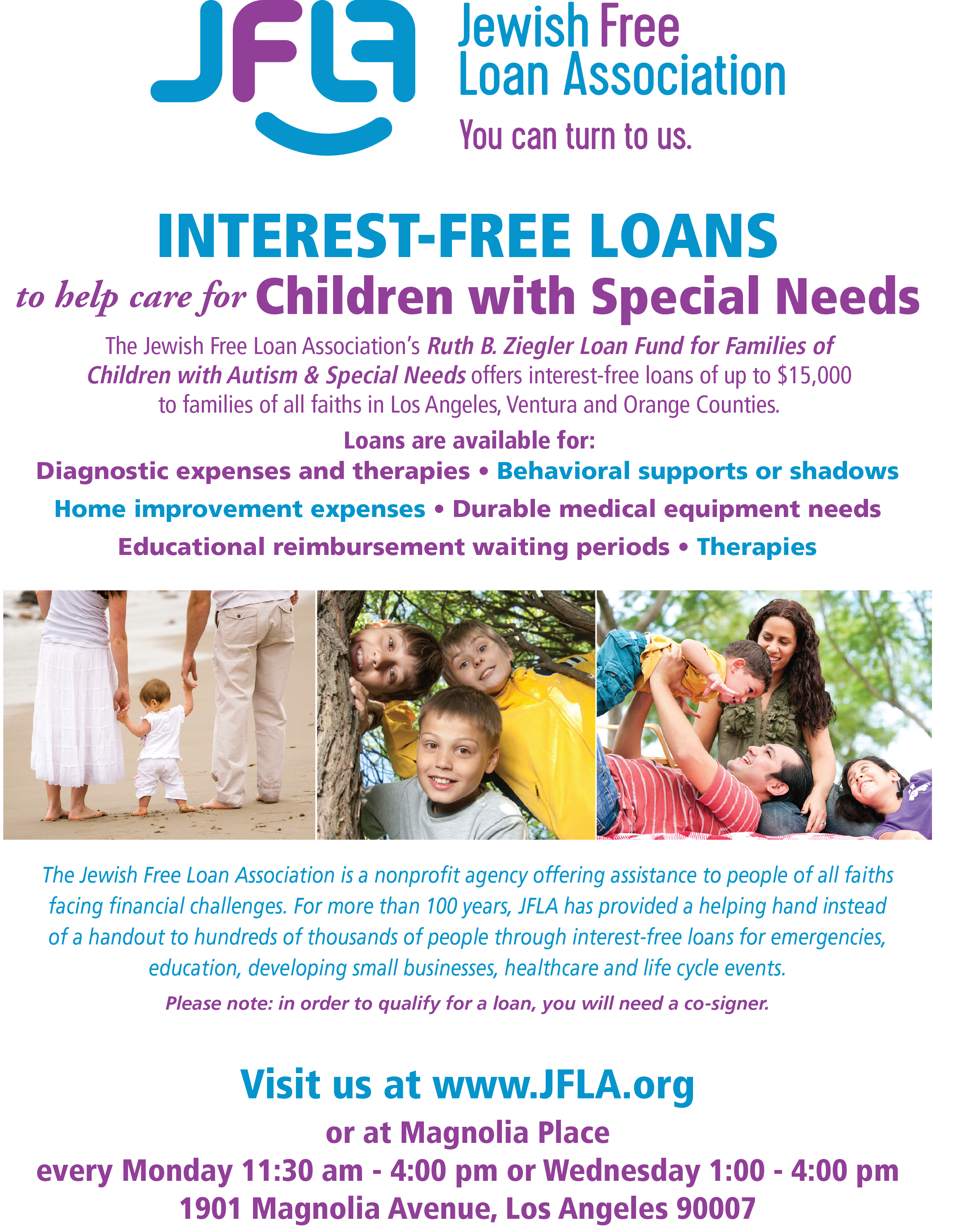 Children with Special Needs | HaMercaz | The Jewish Federation of Greater Los Angeles