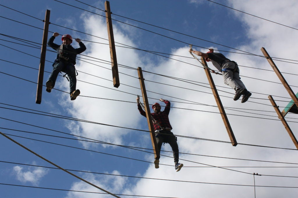 Federation Family Camp - Tight Rope