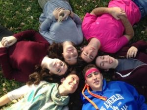 Rachel Kaufman Blog, overhead group photo
