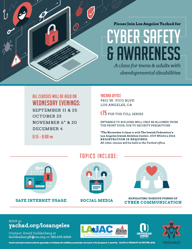 Cyber Safety | HaMercaz | The Jewish Federation of Greater Los Angeles