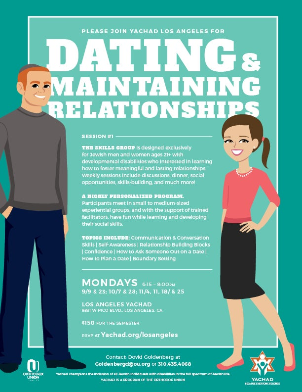 Dating and Maintaining Relationships | HaMercaz | The Jewish Federation of Greater Los Angeles