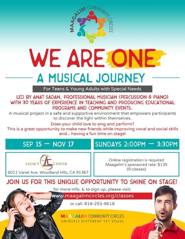 Maagalim - We Are One | HaMercaz | The Jewish Federation of Greater Los Angeles