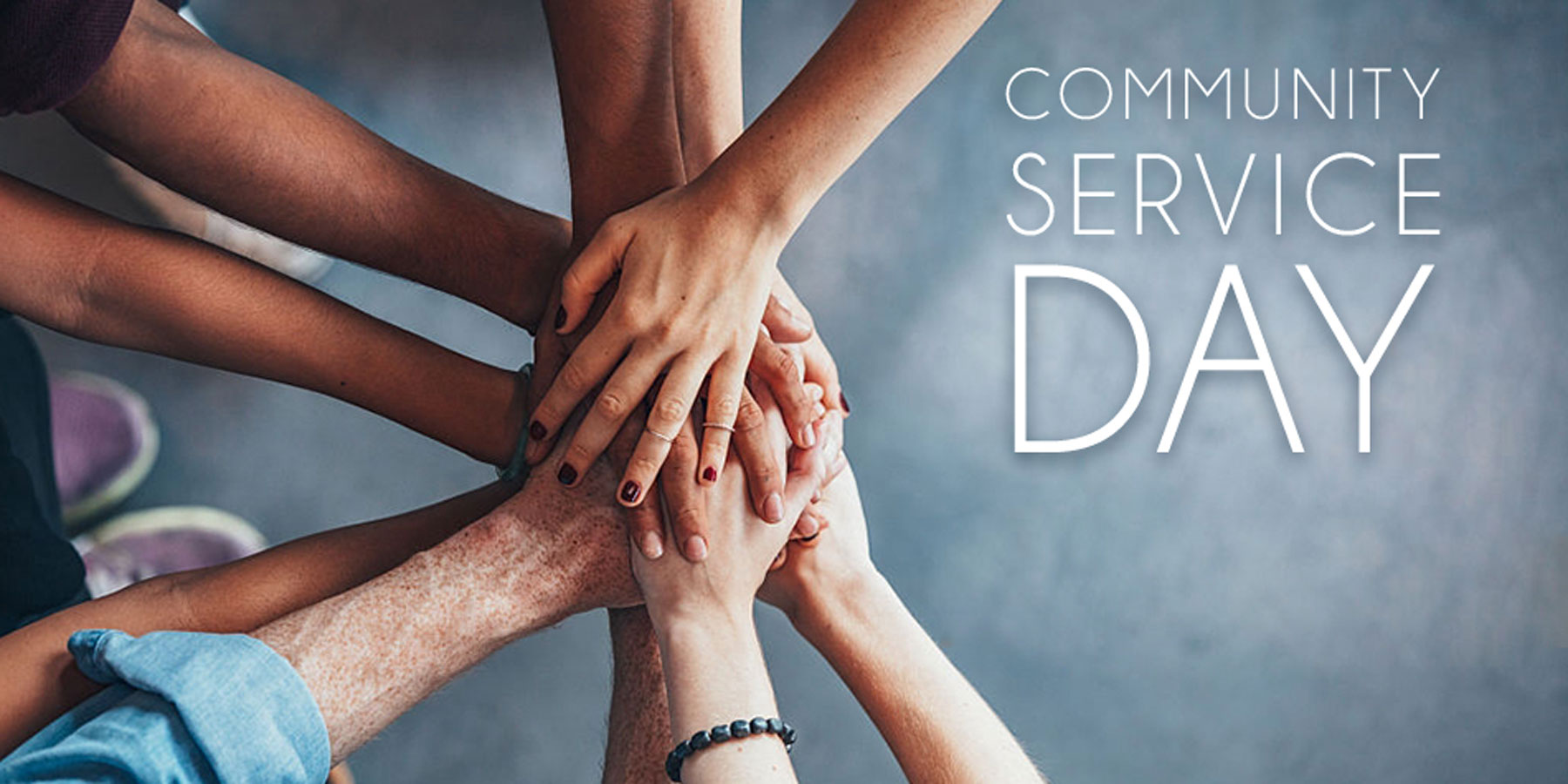 Community Service Day Landing Page