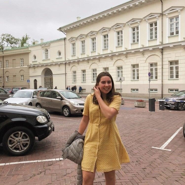 Sophie Rosenblum in Vilnius