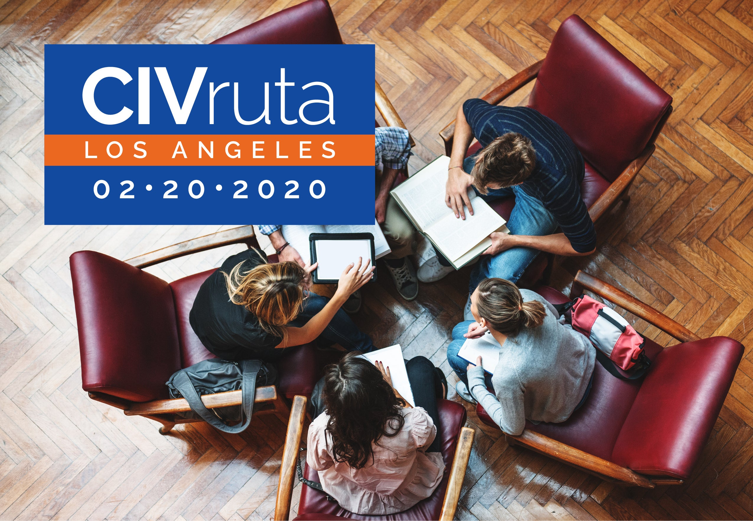 CIVruta header image with people sitting in a circle