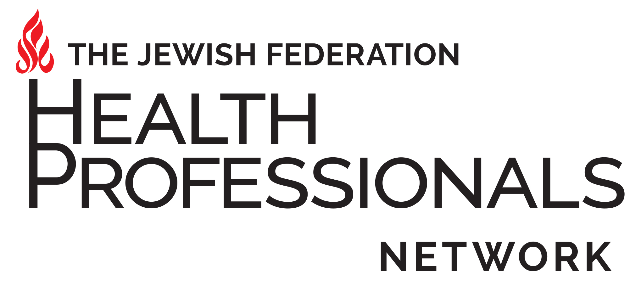 The Jewish Federation Health Professional Networks Logo