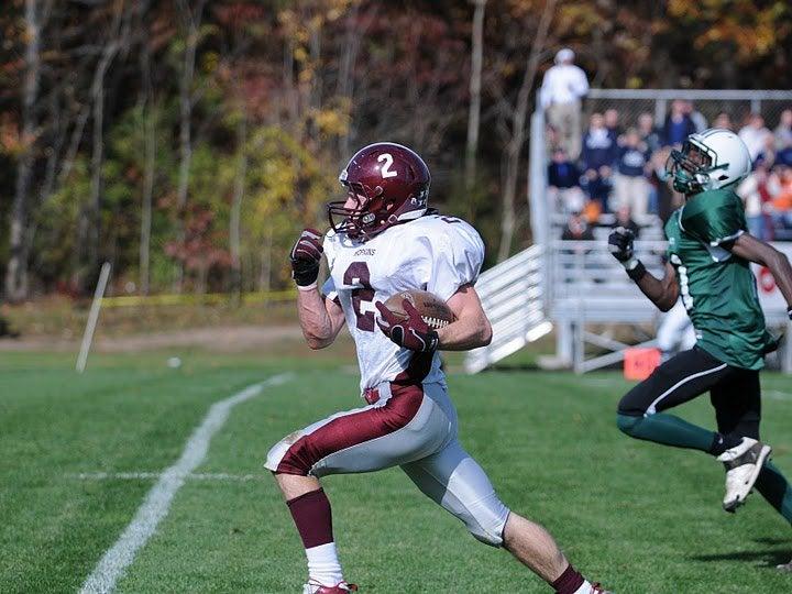 Bryan Turkel Playing College Football