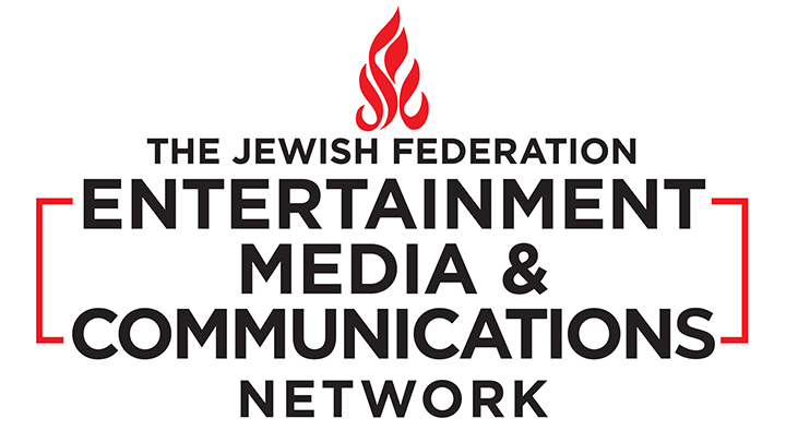 The Jewish Federation Entertainment Media & Communications Network logo