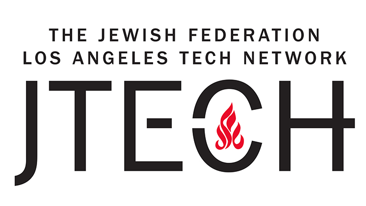 The Jewish Federation Los Angeles Tech Network JTech Logo